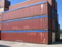 40 Ft Open Top Container