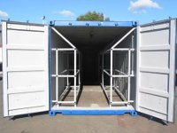 20 Ft Container Storage - Tires