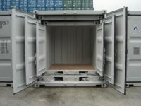 6 Ft Small Shipping Container (CSC approved)